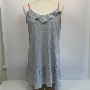 Aerie PJ Dress Gray soft/flowy Large New